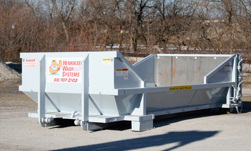 Concrete Containment Systems : Henriksen washout systems